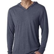 Men's Next Level Tri-Blend Long-Sleeve Hoody