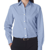 UltraClub® Ladies' Wrinkle-Free End-on-End Shirt