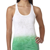 Ladies' Next Level Ombre Burnout Racerback Tank