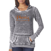 Ladies' J. America Zen Hooded Fleece Sweatshirt
